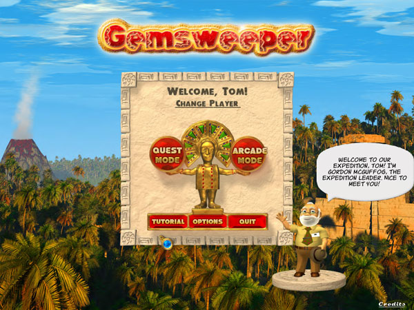 Gemsweeper Screenshot